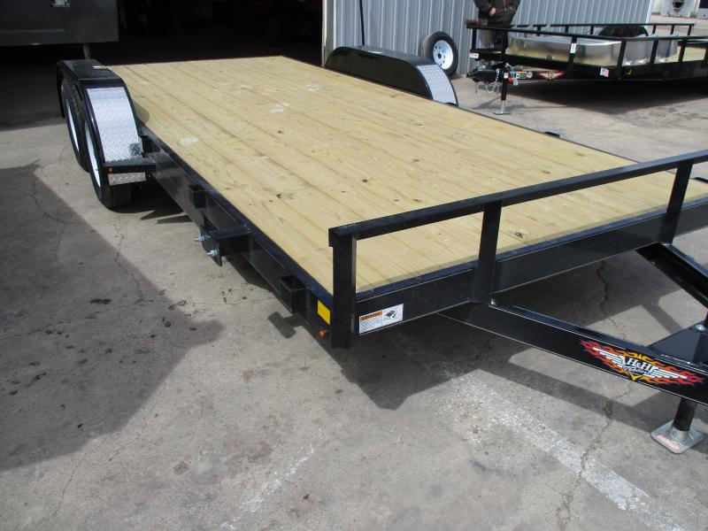2020 H & H Trailers Car Flatbed Trailer