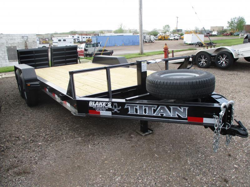 2020 Titan Trailers Flatbed Flatbed Trailer