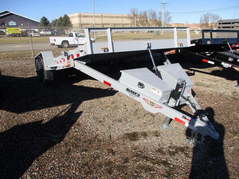 2020 H and H Trailer Speedloader Flatbed Trailer