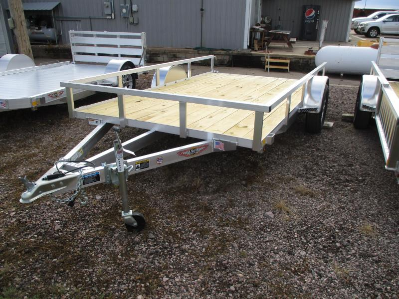 2020 H and H Trailer Rail Side Utility Trailer