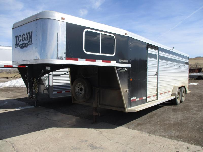 2015 Logan Coach Stock Combo Livestock Trailer