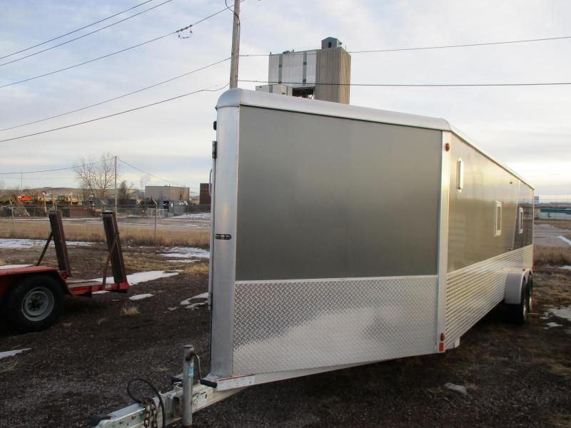 2014 Aluma Cargo Enclosed Cargo Trailer 7 X 29