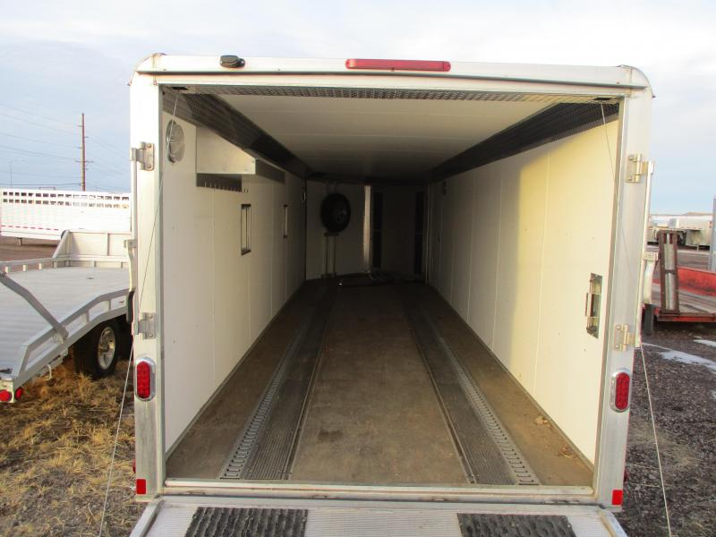 2014 Aluma Cargo Enclosed Cargo Trailer 7 X 29