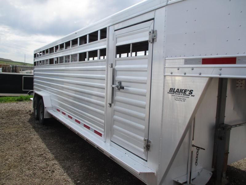 2016 Featherlite Stock Livestock Trailer 7 X 24
