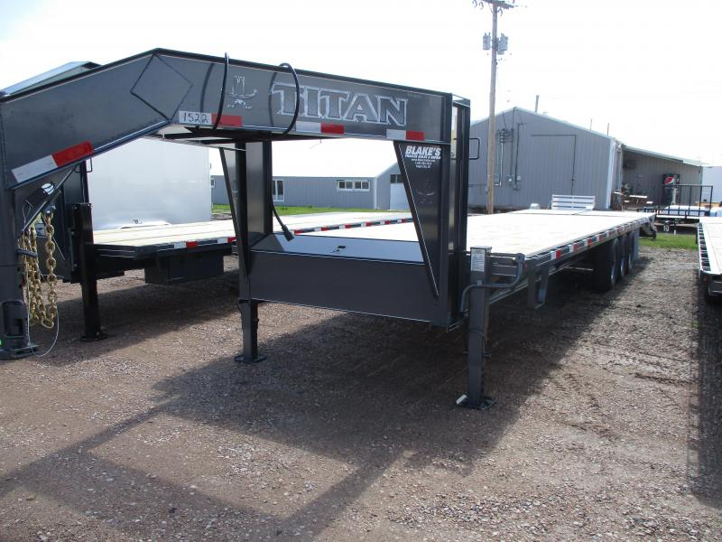 2019 Titan Trailers Flatbed Flatbed Trailer