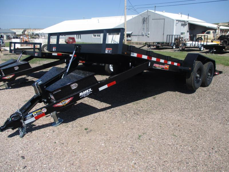 2020 H & H Trailers Speedloader Flatbed Trailer