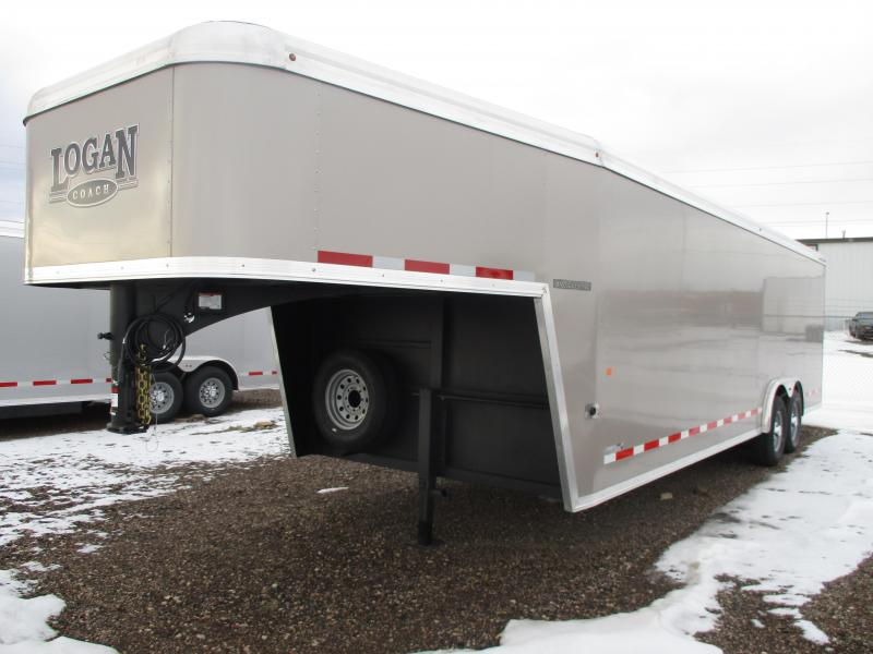 2020 Logan Coach Contractor Enclosed Cargo Trailer