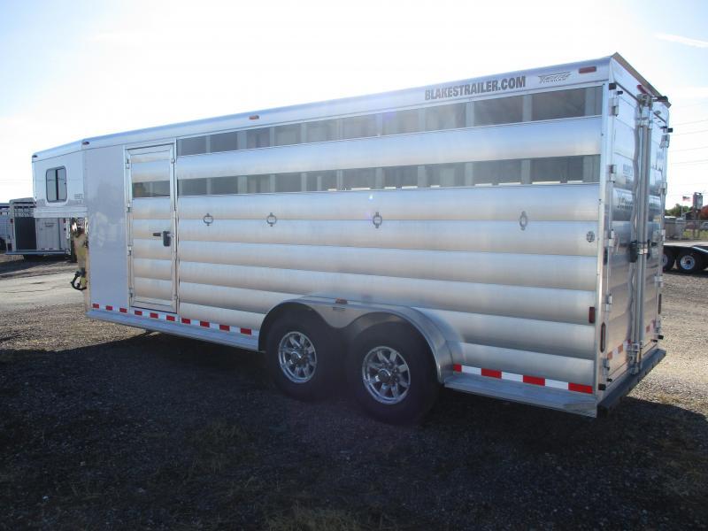 2020 Twister Stock Combo Livestock Trailer