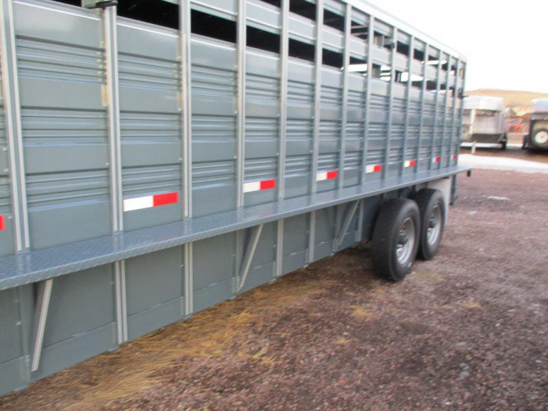 2020 Titan Trailers Stock Livestock Trailer