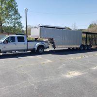 34 GN Enclosed Cargo Trailer