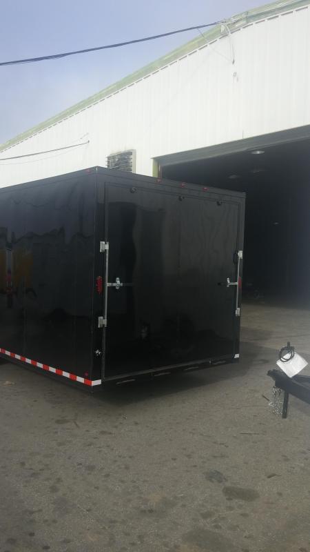 48 GN Enclosed Cargo Trailer