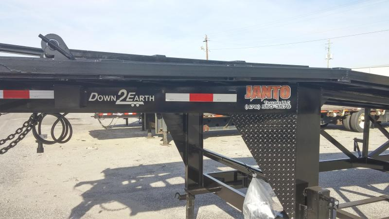 Down 2 Earth Trailers Wedge Equipment Trailer