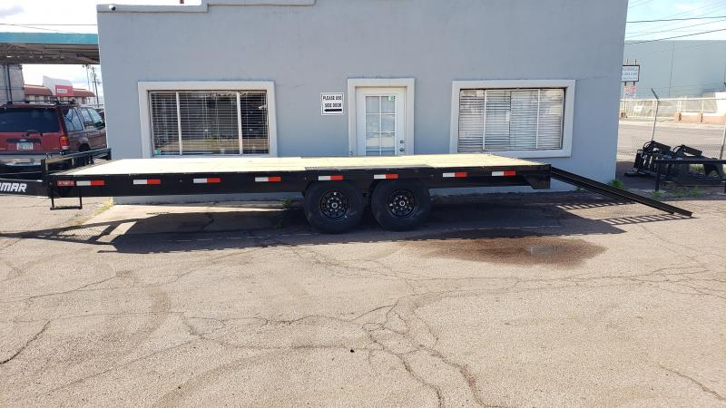 2020 Lamar Trailers F8-7k-20-Deck Over Flatbed Trailer