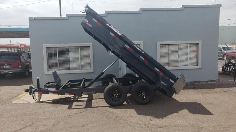 **ON SALE NOW** 2020 Lamar Medium Duty Dump Trailer- 9990#-scissor lift-  GVWR- Ramps- Deluxe Tarp Kit- Adj Coupler- Cash Discounts (See Below)
