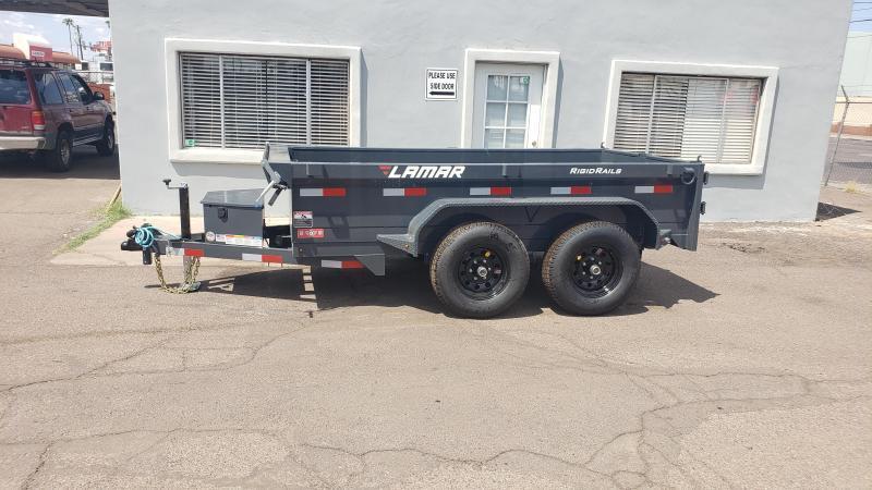 **ON SALE NOW** Lamar Mini Dump Trailer- 5x10- 9990# GVWR- Ramps- Deluxe Tarp Kit- Adj Coupler- Cash Discounts (See Below)