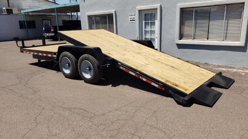 2020 High Desert Trailers- Heavy Duty Tilt Trailer- 22 ft tilt- 8000 lb axles- 17.5/16 ply tires- 17000# GVWR
