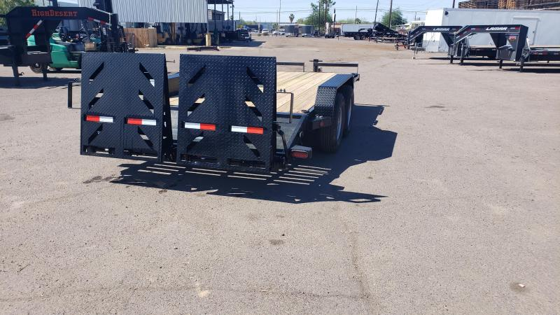 2020 Ironbull- Heavy Duty Equipment Trailer- 18 ft - 7000 lb axles- Free spare- 14000# GVWR