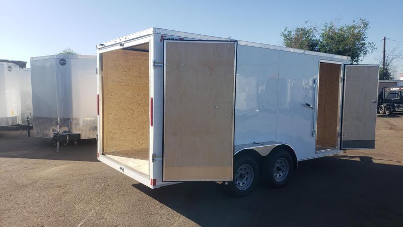 2020 Wells Cargo FT716T2-D Enclosed Cargo Trailer