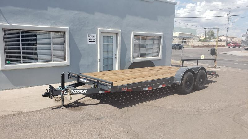 ON SALE NOW- 2020 Lamar Trailers ccw-5.2k-20 Car / Open Car Trailers-9990# GVWR Free Spare-