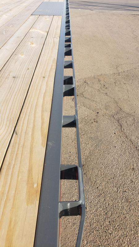 2020 Lamar Trailers F8-7k-20-Deck Over Flatbed Trailer