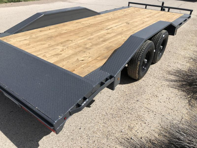 2020 Lamar Trailers ccw-5.2k-20 Car / Open Car Trailers-9990# GVWR- Drive over fenders-  Free Spare-