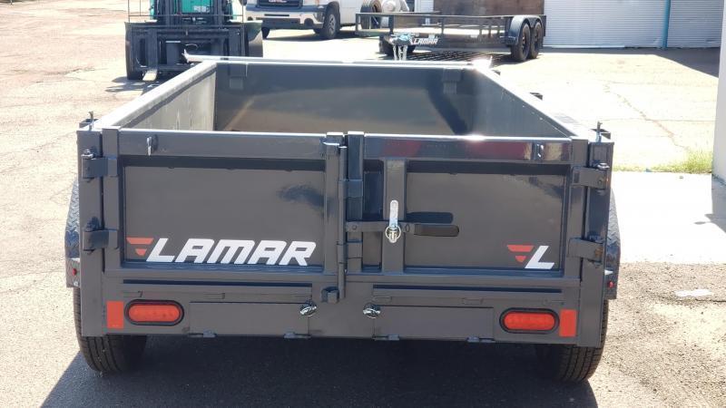 **ON SALE NOW** Lamar Mini Dump Trailer- 5x10- 7000# GVWR- **FREE SPARE TIRE-Ramps- Deluxe Tarp Kit- Adj Coupler- Cash Discounts (See Below)