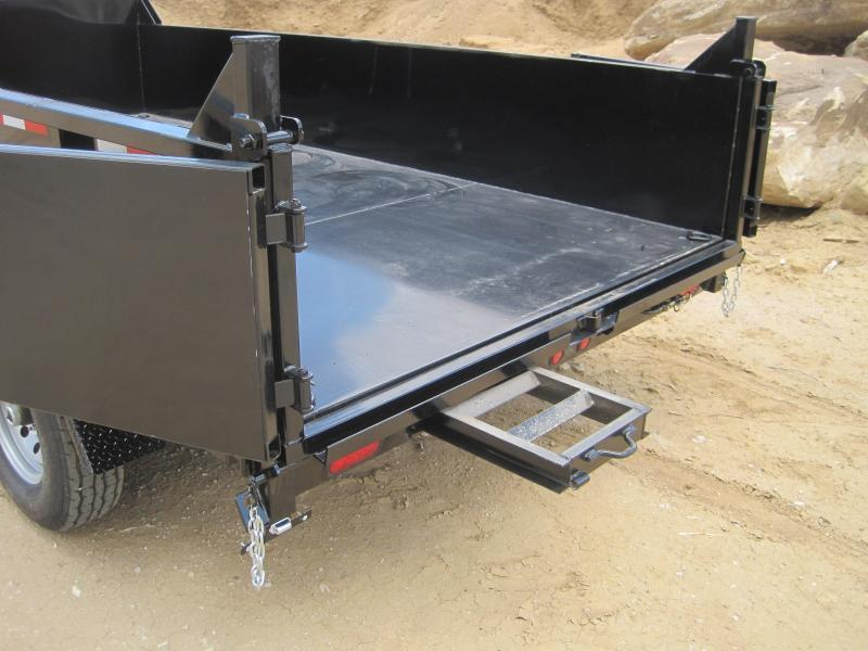 High Desert Dump -14,000# GVWR- 7x14ft- Ramps- Tarp Kit- Spreader Gate- Sealed Wiring Harness- LED- Cash Discounts (See Below)
