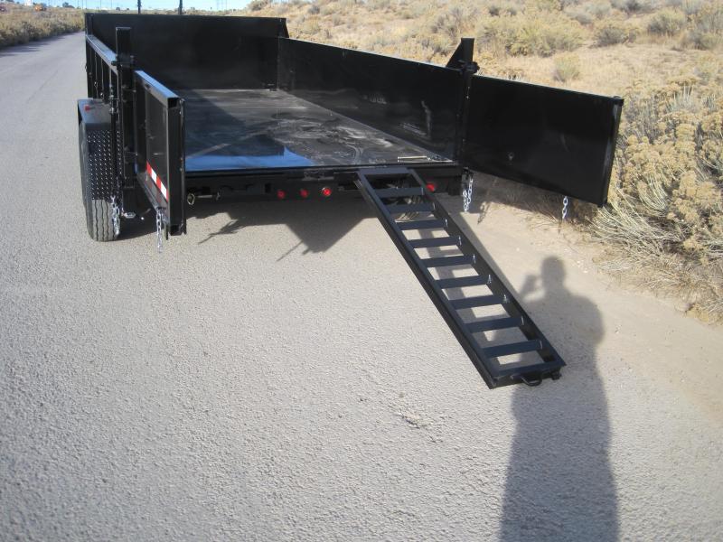2020 High Desert Dump -14,000# GVWR- 7x14ft- Ramps- Spreader Gate- Sealed Wiring Harness- LED- Cash Discounts (See Below)