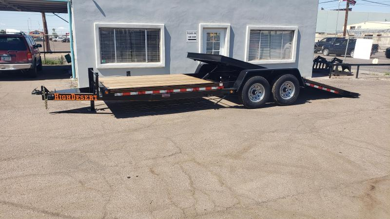 2019 High Desert Trailers- Heavy Duty Tilt Trailer- 22 ft tilt- 7000 lb axles-  15000# GVWR