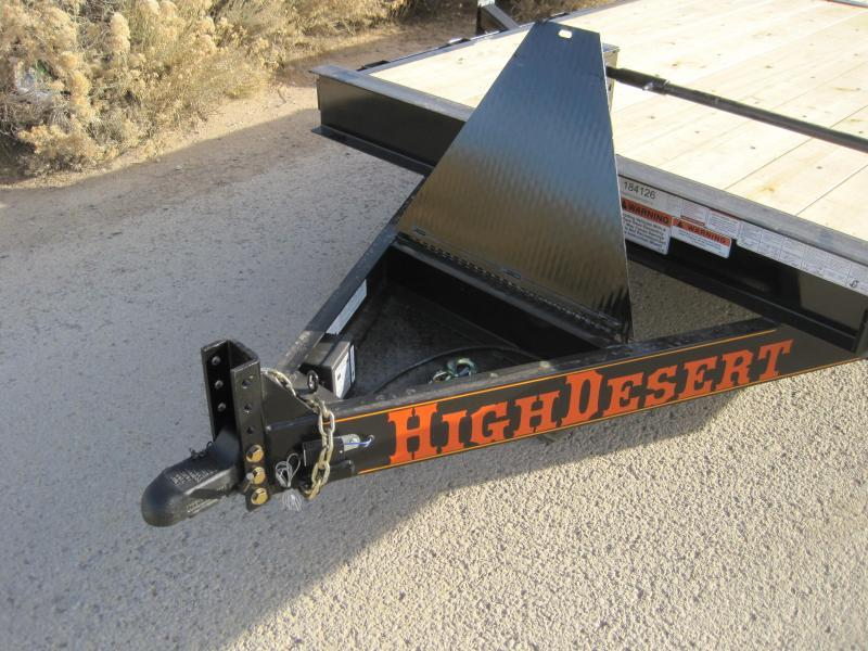 2019 High Desert Trailers- Heavy Duty Tilt Trailer- 22 ft tilt- 7000 lb axles-  15000# GVWR