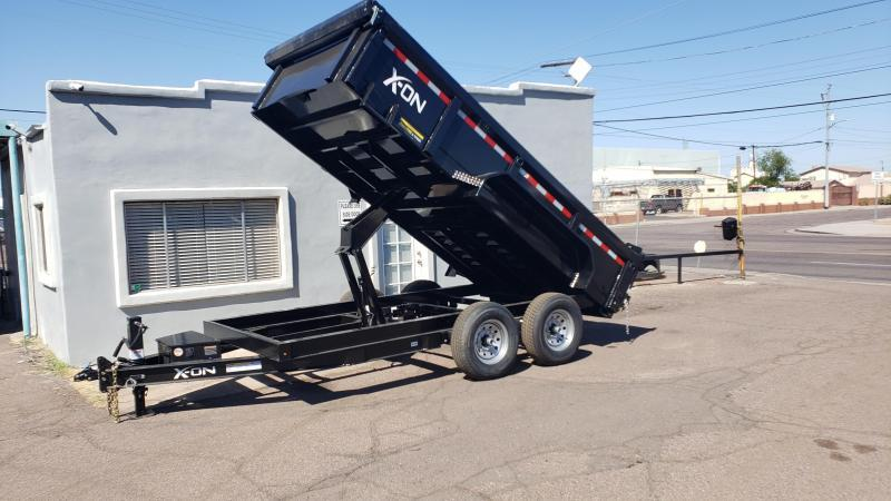 "2019 X-On I6-DT831427 Dump Trailer 83"" x 14'"