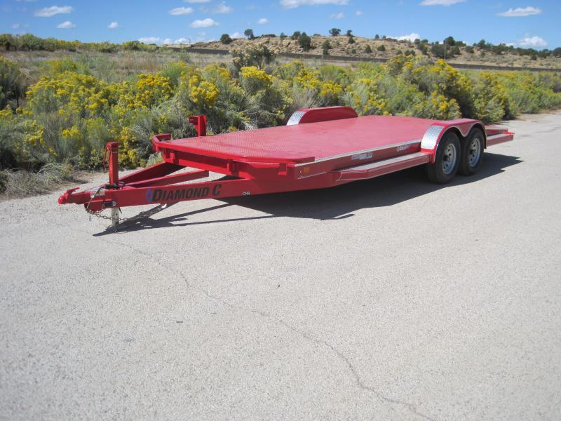 2020 Diamond C Trailers CHS252-20 Car / Open Car Trailers