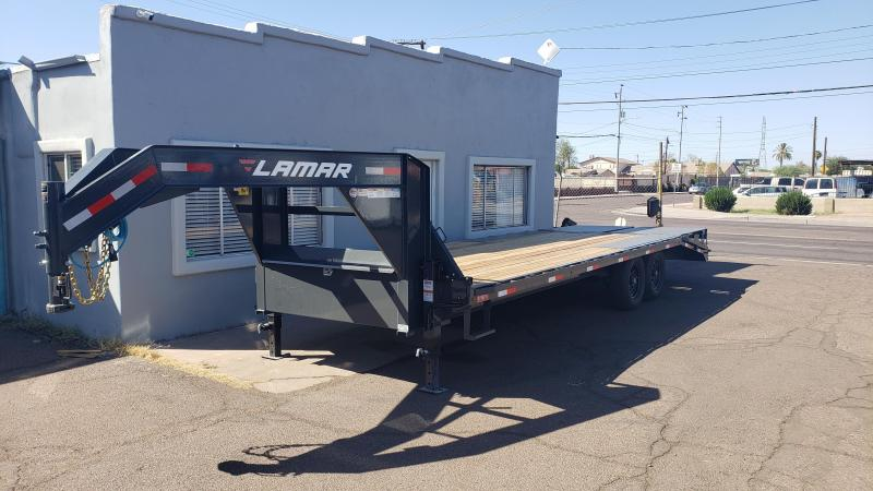 2019 Lamar Trailers Heavy Duty Deck-Over 14K  Flatbed Trailer