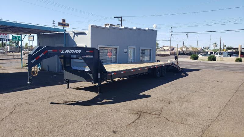 2019 Lamar Deck Over 30'  GVWR 14000#  Flatbed Trailer ***Cash Discounts**  See below