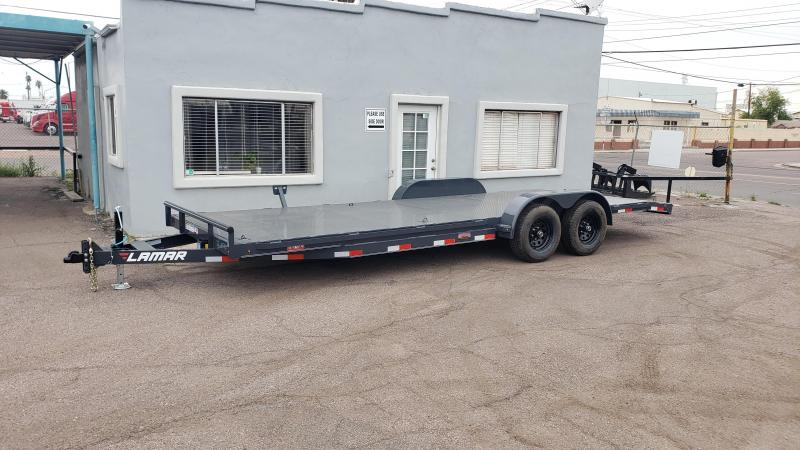 2020 Lamar Trailers CC-5.2k-22  Open Car / Racing Trailer-Free Spare- ramps- ** Cash Discounts available- see bleow**