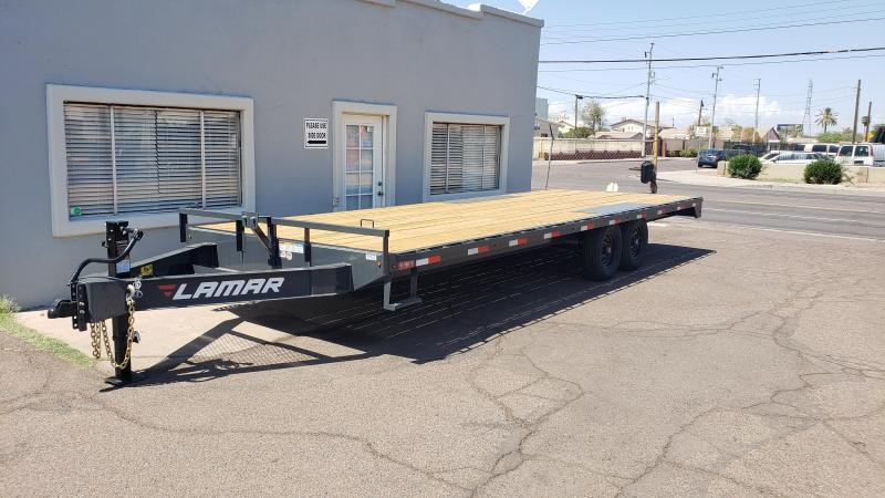 2019 Lamar Trailers F8-7k-24 Deck Over Flatbed Trailer