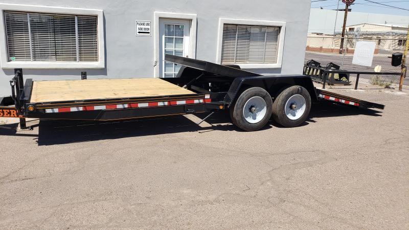 2020 High Desert Trailers- Heavy Duty Tilt Trailer- 22 ft tilt- 8000 lb axles- 17.5/16 ply tires- 17000# GVWR