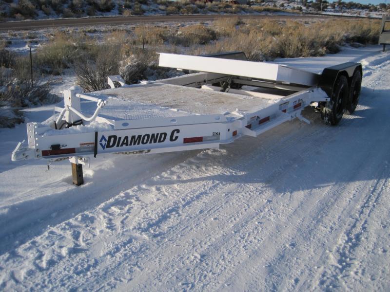 2020 Diamond C Trailers HDT207 Equipment Tilt Trailer