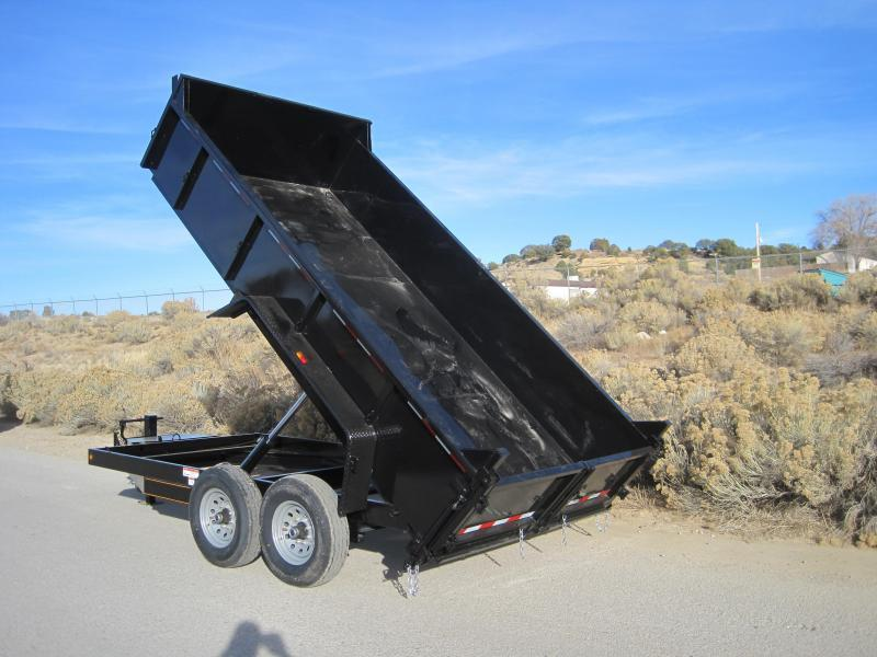 2020 High Desert Dump -12,000# GVWR- 7x12ft- Ramps- Spreader Gate- Sealed Wiring Harness- LED- Cash Discounts (See Below)