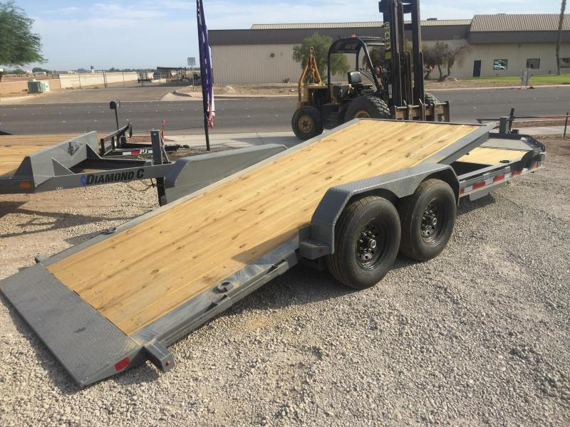 2018 Diamond C Trailers HDT-LPL 20x82 HYD Dampened Trailer