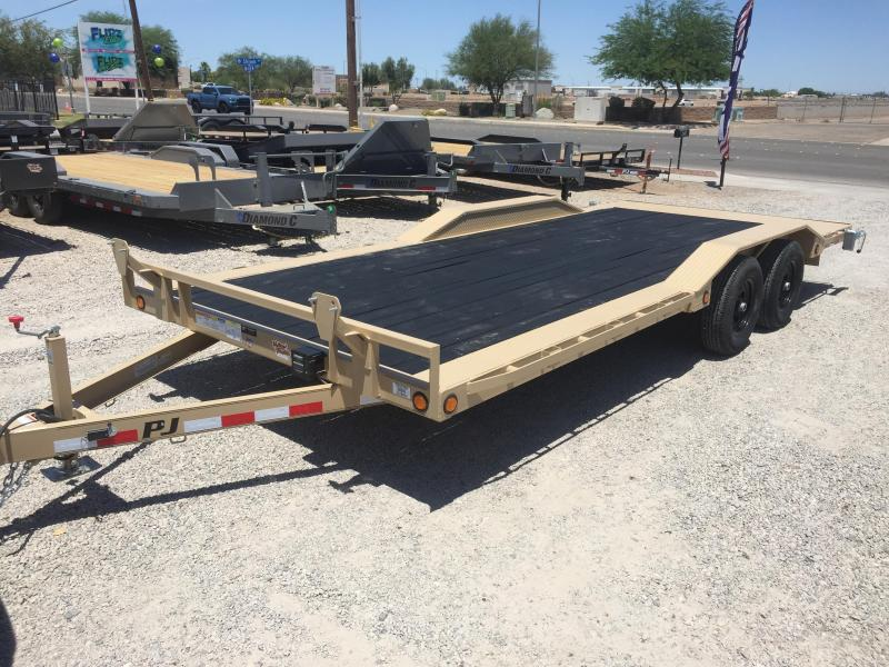 2019 PJ Trailers PJ B5 20X102 Car / Racing Trailer