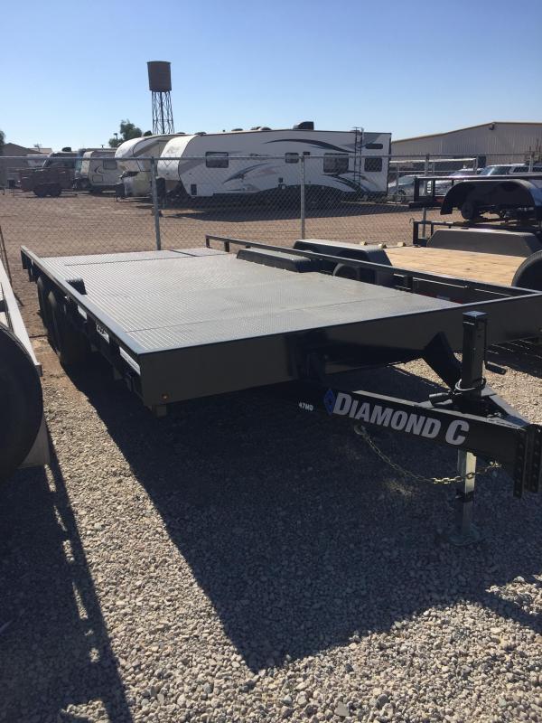 2019 Diamond C Trailers MD 20X98 Utility Trailer