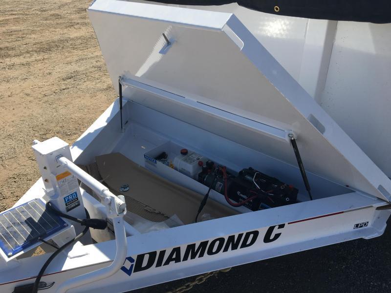 2020 Diamond C Trailers LPD 12X82 Dump Trailer