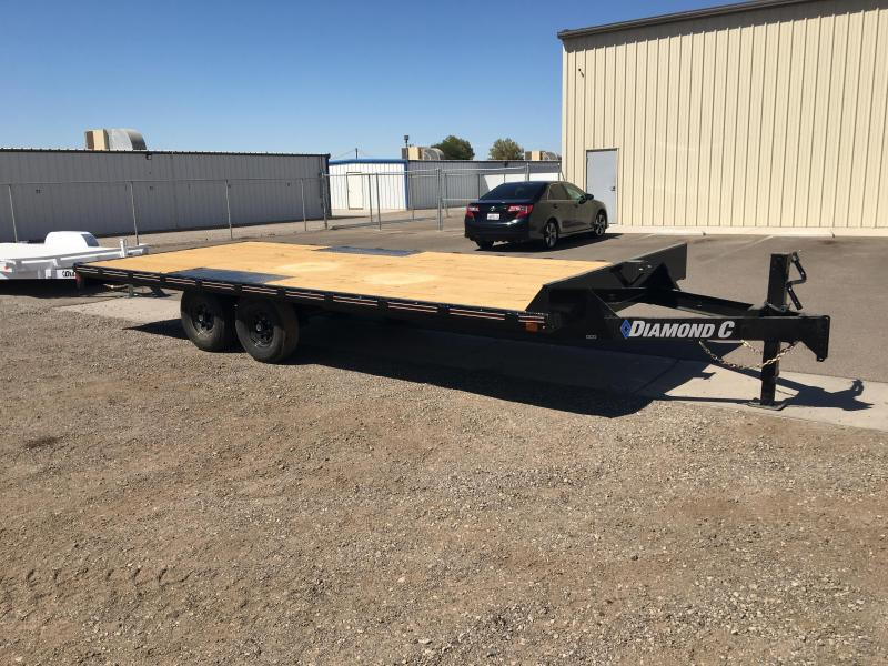 2020 Diamond C Trailers GDD 20 X 102 Equipment Trailer