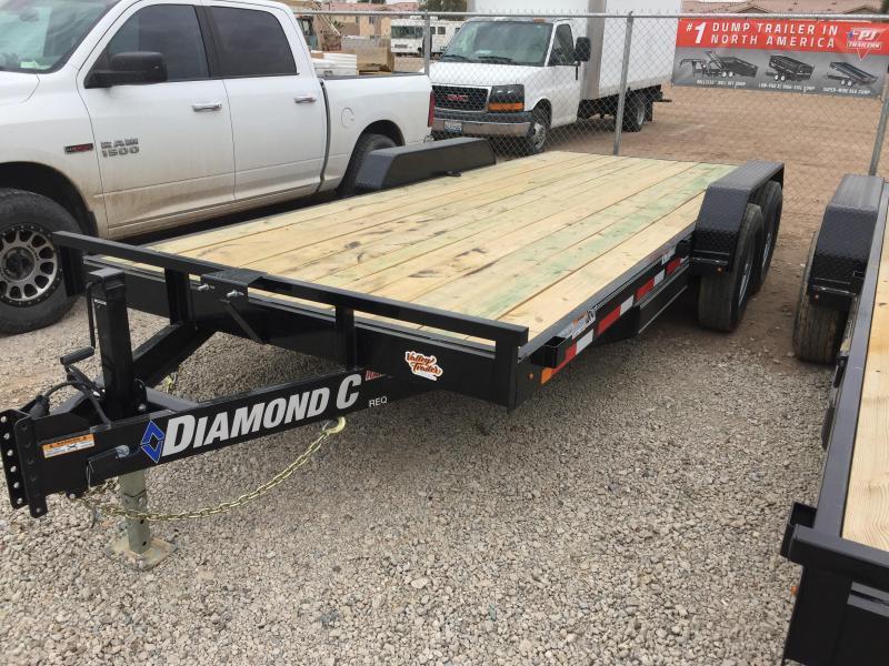 2019 Diamond C Trailers REQ 20X82 Equipment Trailer