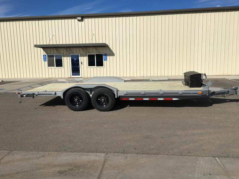 2020 Diamond C Trailers EQT 20X102 Equipment Trailer