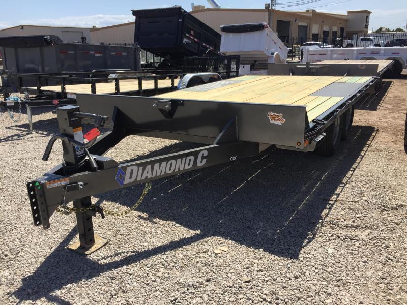 2019 Diamond C Trailers GDD 14X102 Equipment Trailer