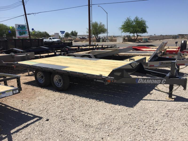 2019 Diamond C Trailers GDD 14X102 Equipment Trailer