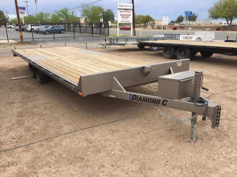 2019 Diamond C Trailers GDD 22X102 Equipment Trailer