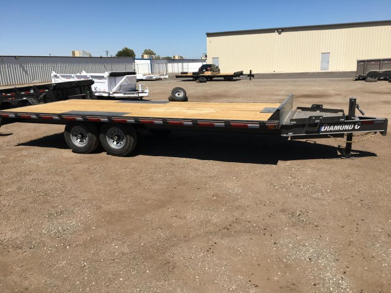 2020 Diamond C Trailers DEC207 20X102 Equipment Trailer